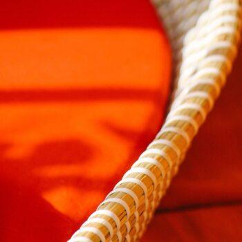 bajera cambiador capazo rojo teja