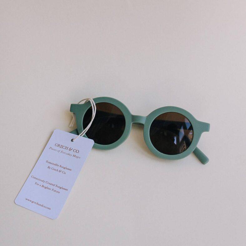 gafas sol niño verdes