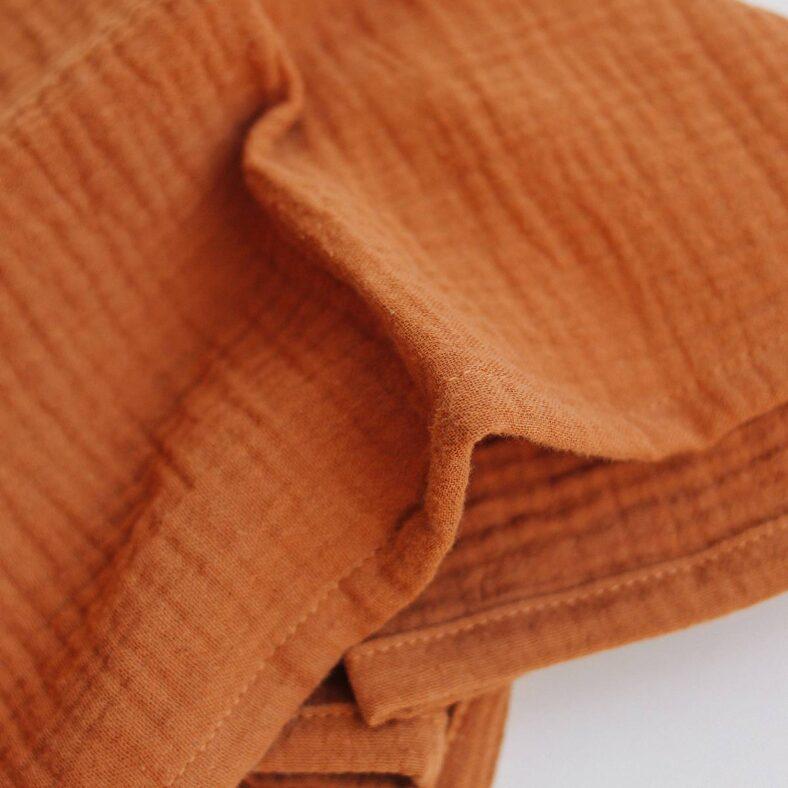 detalle muselina ginger organica