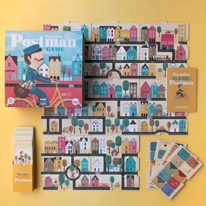 juego de mesa postman completo