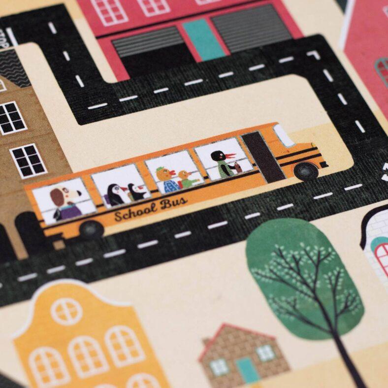 piezas carretera juego de mesa postman