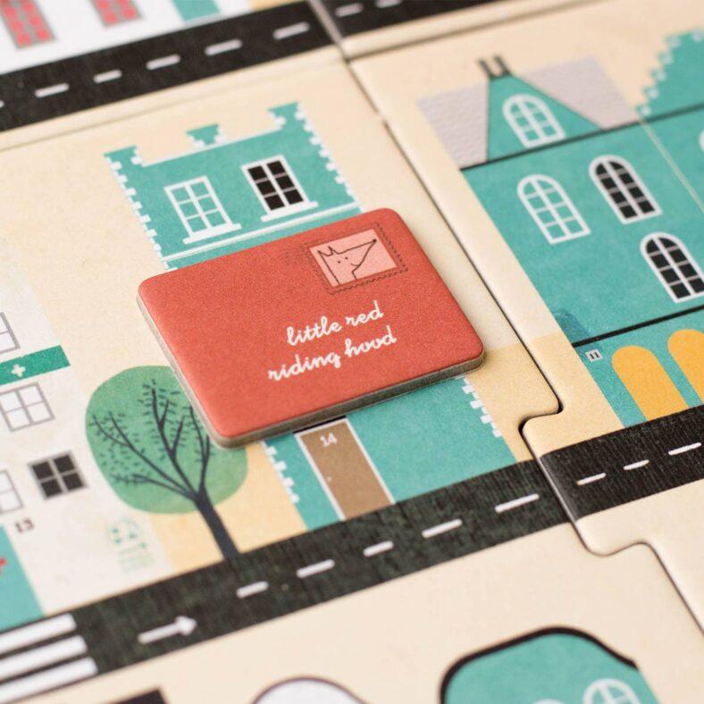 detalle cartas juego de mesa postman