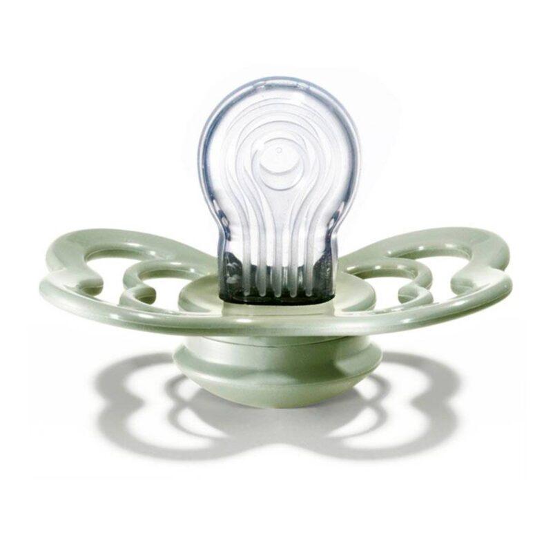 bibs supreme verde salvia silicona