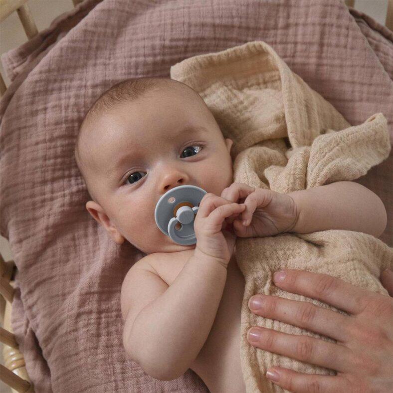 baby blue bibs pacifier