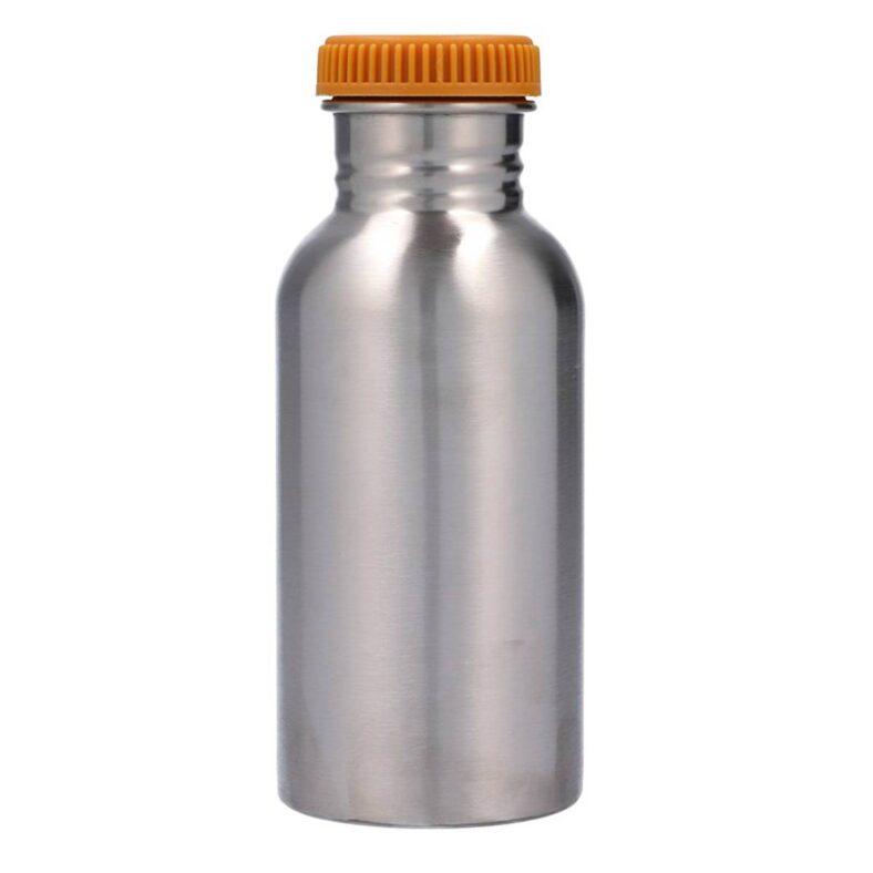 botella acero mostaza