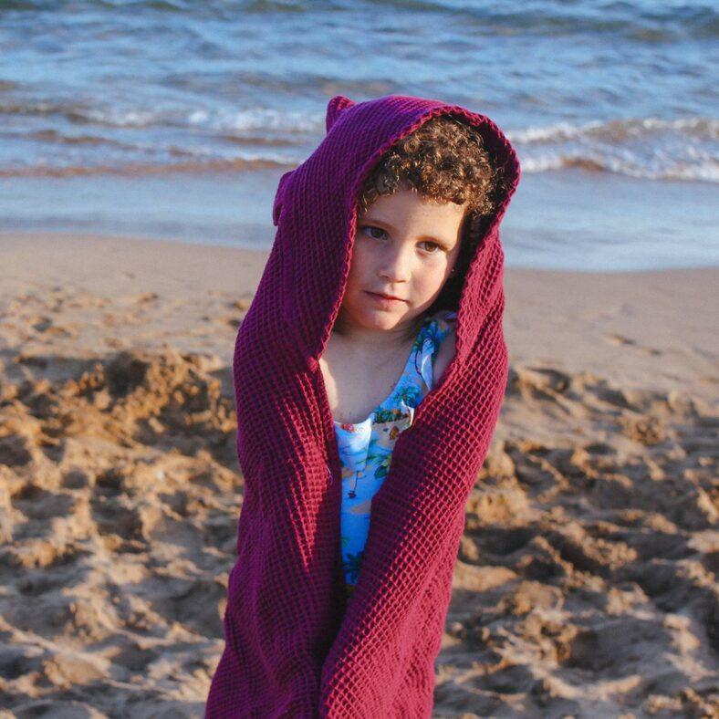 capa baño gofre playa