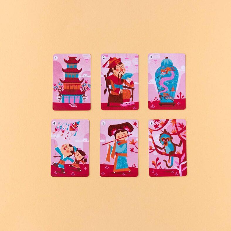 cartas familias sapiens asia