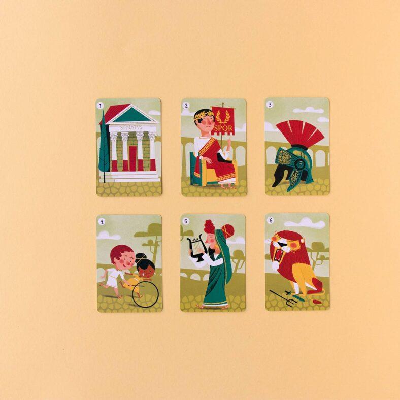 cartas familias sapiens roma