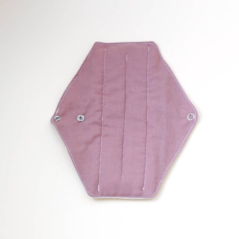 compresas tela rosa
