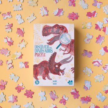 puzle descubre los dinosaurios
