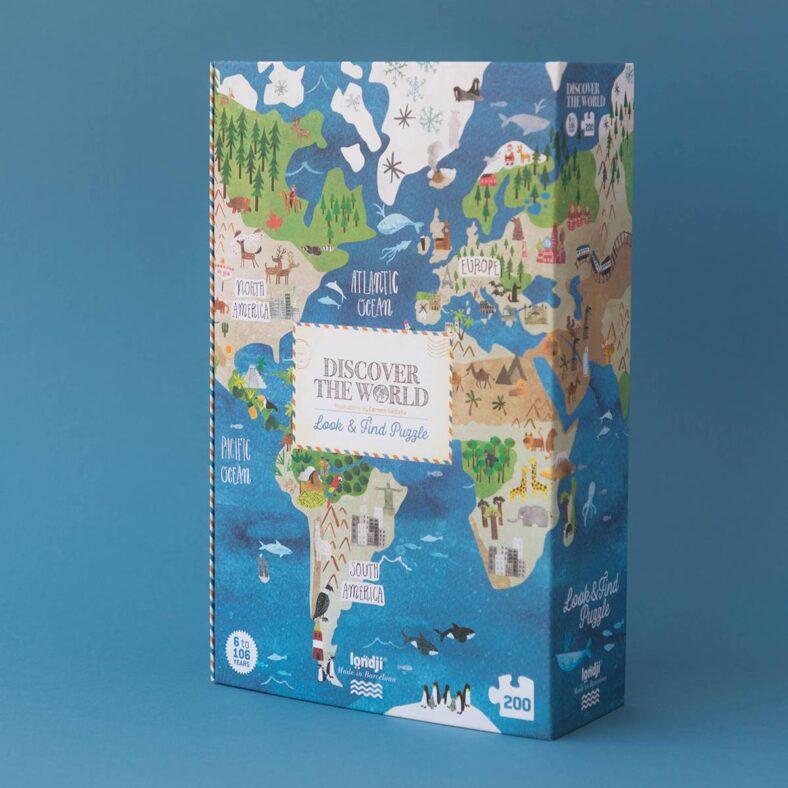 puzle descubre el mundo