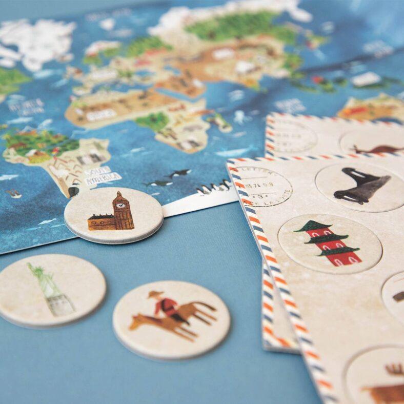 puzle descubre el mundo detalle