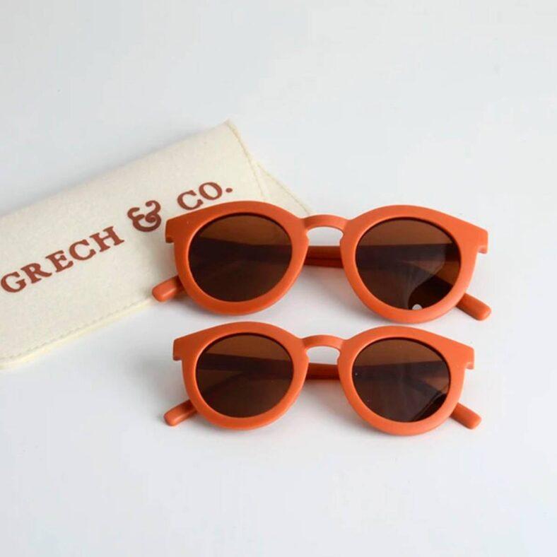 gafas sol infantil naranja