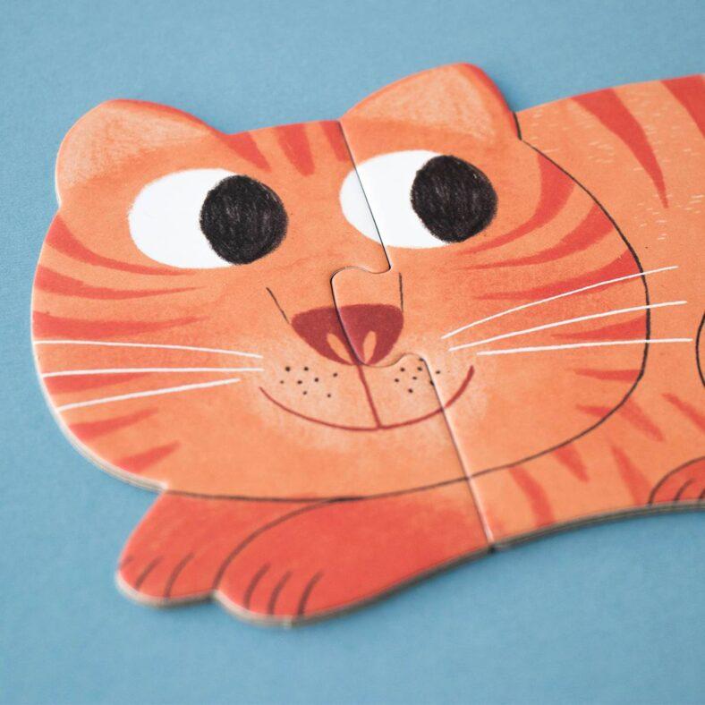 puzle i love my pets gatito