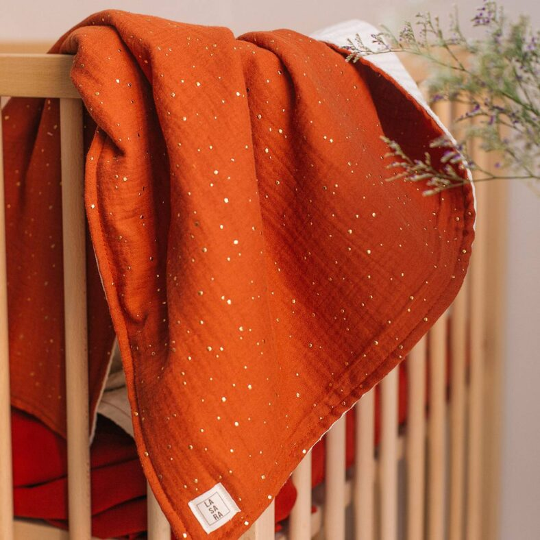 manta alhambra roja gofre