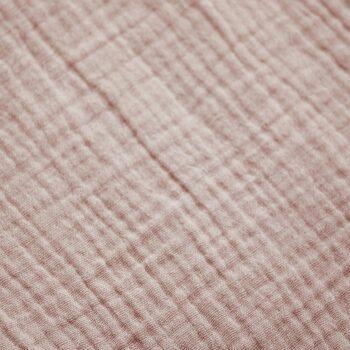 textura detalle muselina rosa