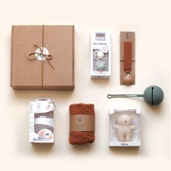 caja pack regalo completo bebe