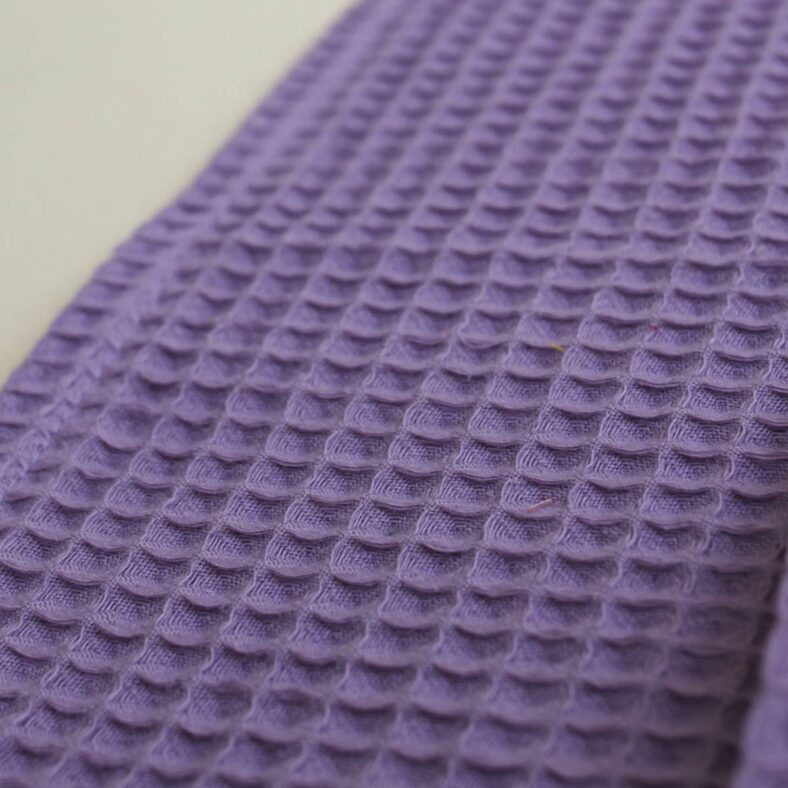 textura color toallita paño lactancia waffle lavanda