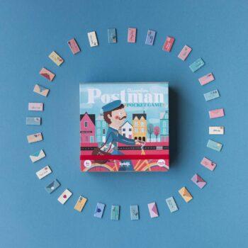 juego de mesa postman version viaje pocket