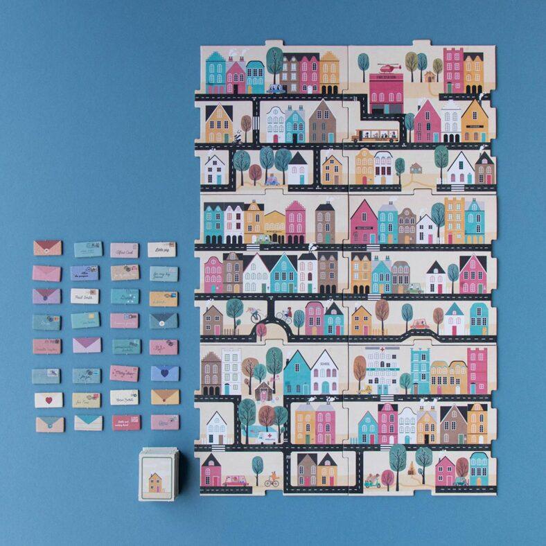 juego de mesa postman version viaje pocket completo