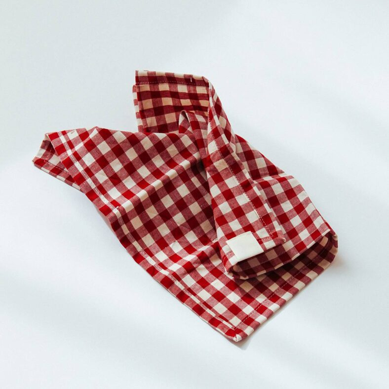 Servilleta de tela Vichy picnic