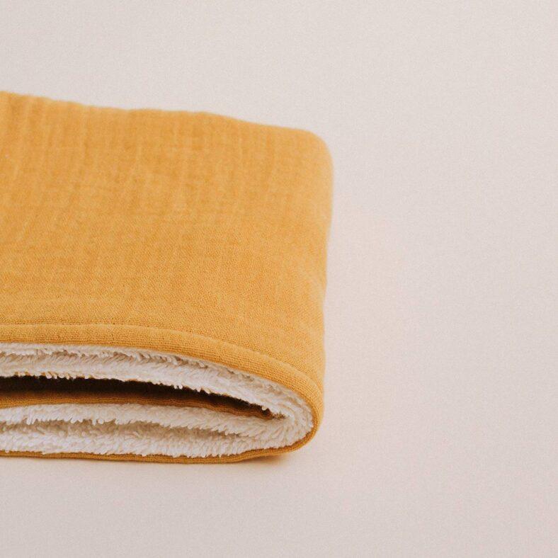toallita paño lactancia mostaza lateral