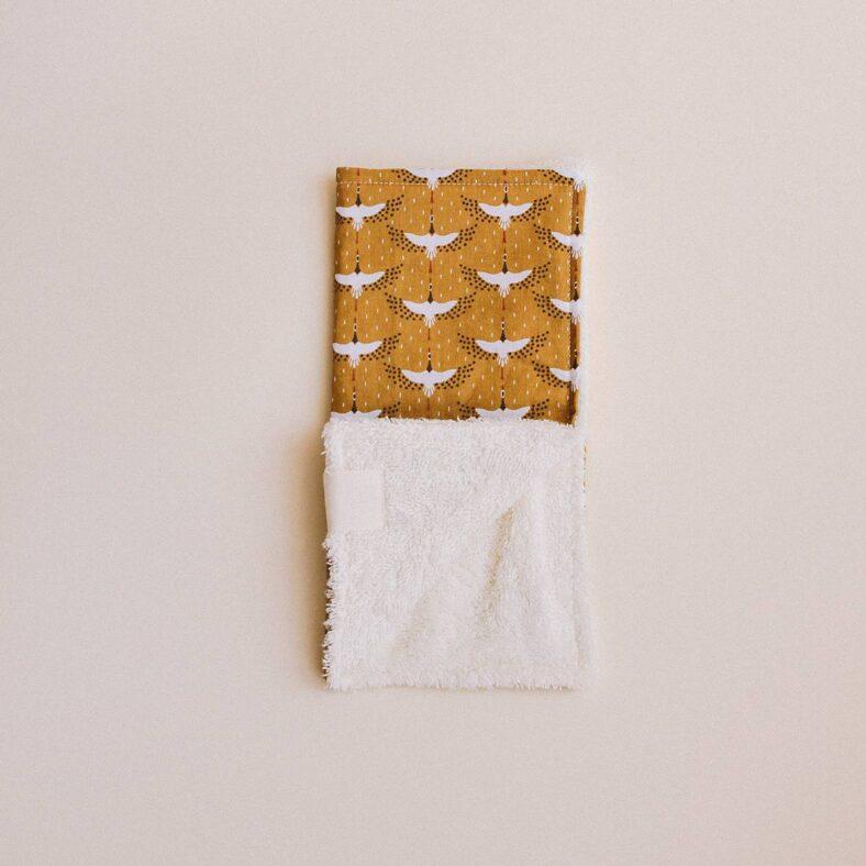 paño lactancia toallita grullas