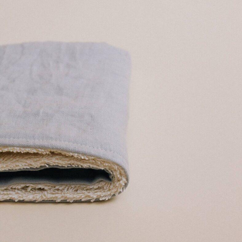 paño toallita lino lateral