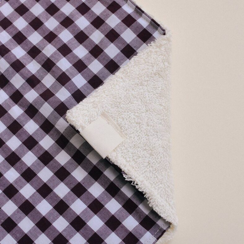 detalle toallita paño lactancia vichy
