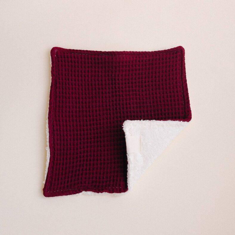 toallita lactancia purpura esquina