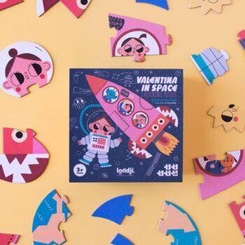 puzle valentina en el espacio