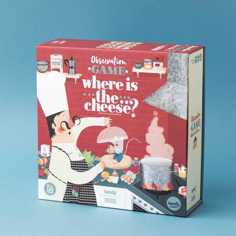where is the cheese juego de mesa